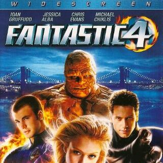 Fantastic 4 Widescreen US DVD