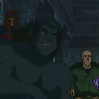 Beast, Magneto, and Xavier research Apocalypse.
