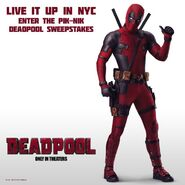 Deadpool film promo