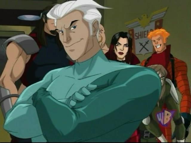 Quicksilver  X-Men Evo...