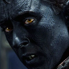 Nightcrawler aboard the X-Men's Blackbird.