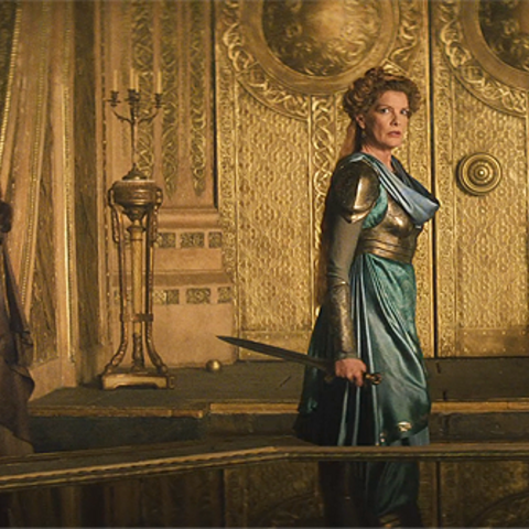 Jane Foster and Frigga.