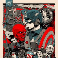 Mondo's Captain America Poster.