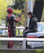 Deadpool Filming 48