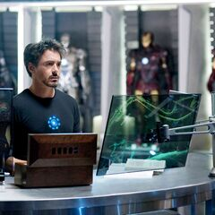 Tony in his lab