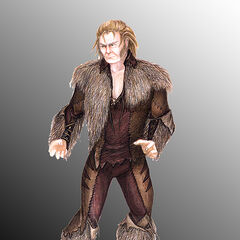 Concept art for Sabretooth in <i>X-Men</i>.