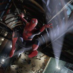 Spider-Man webzipping