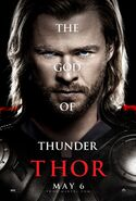 Thor movie poster
