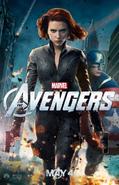 The Avengers - Natasha Romanoff promotional poster