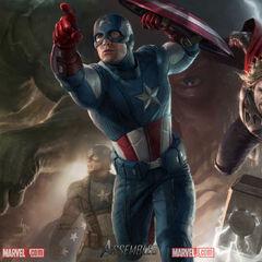 Avengers promo art.