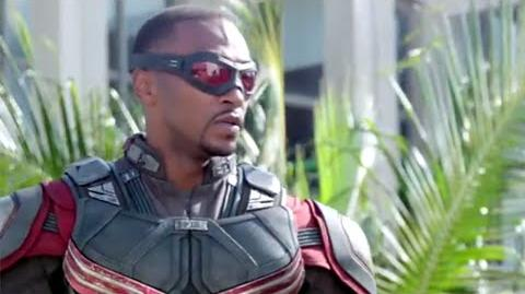 "Captain America Civil War - Official ""Sam Wilson Falcon"" Featurette 3 HD"