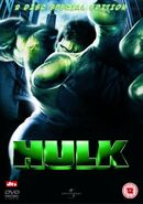 Hulk 2 Disc Special Edition UK DVD
