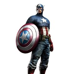 3D Concept Art model for <i>Captain America: Super Soldier</i>, Traditional Costume.