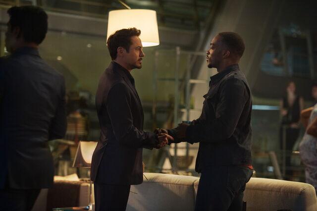 File:Avengers Age of Ultron Tony Stark and Sam Wilson.jpg
