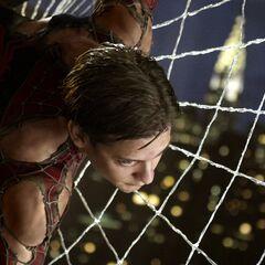 Spidey/Peter web climb.