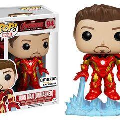 Iron Man unmasked