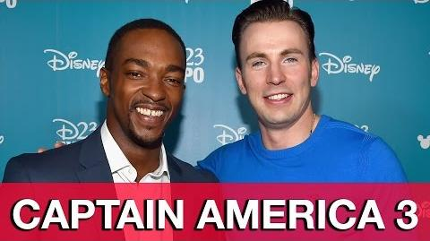 Captain America Civil War D23 Expo Interview - Chris Evans & Anthony Mackie