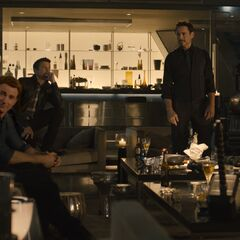 Official First Look at Thor, Steve Rogers, Clint Barton, Tony Stark, and James Rhodes in Avengers Tower