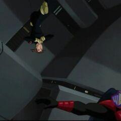 Erik trains the New Mutants.