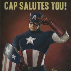 Captain America War Bonds poster #1.