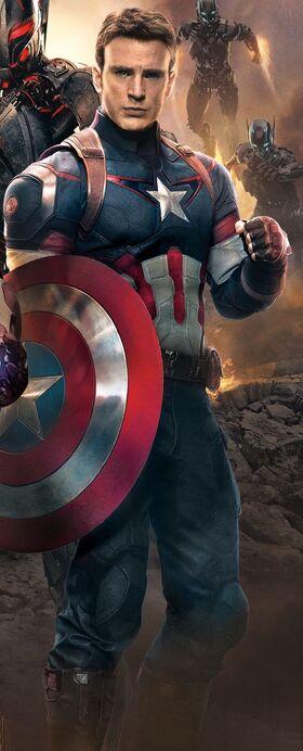 Captain America AoU Headshot