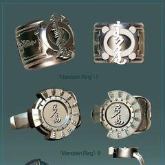 Mandarin Ring 7 and 8