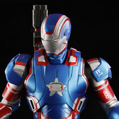 Iron Patriot (closeup)