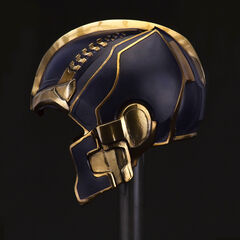 Thanos' helmet from <i>The Avengers</i>.