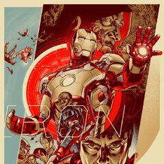 Mondo Iron Man 3 Poster.