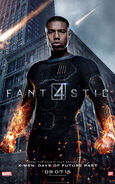 Poster - Human Torch
