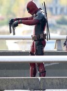 Deadpool Filming 15