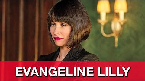 "Ant-Man Interview - Evangeline Lilly ""Hope Van Dyne"""