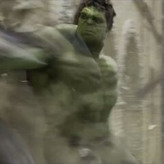 Hulk smashes.