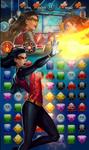 Spider-Woman (Jessica Drew) System Shock