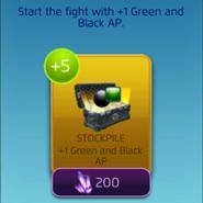 GreenBlackStockpile
