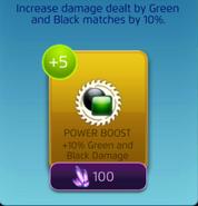 GreenBlackDamagePowerBoost