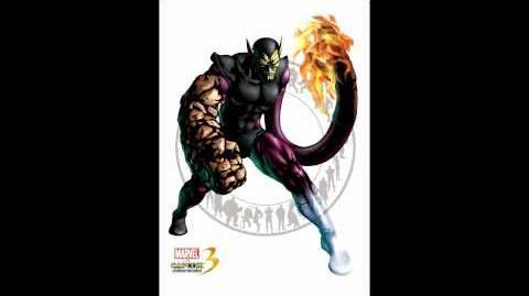 Marvel VS Capcom 3 - Super Skrull Theme