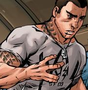 James Vega recruited to escort Shepard