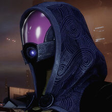 Tali en Mass Effect 2.
