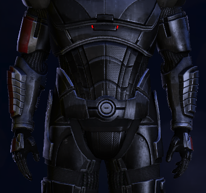 Got my n7 hoodie recently but what are these stripes for masseffect armor in me2 and me3 as maxwellsz