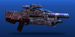 ME3 Saber Assault Rifle