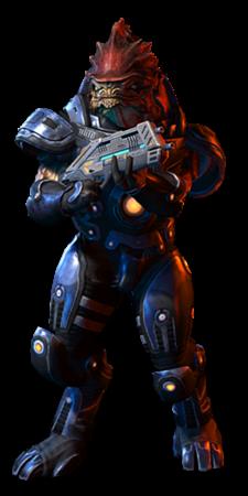 Mass Effect   Human Infiltrator Build