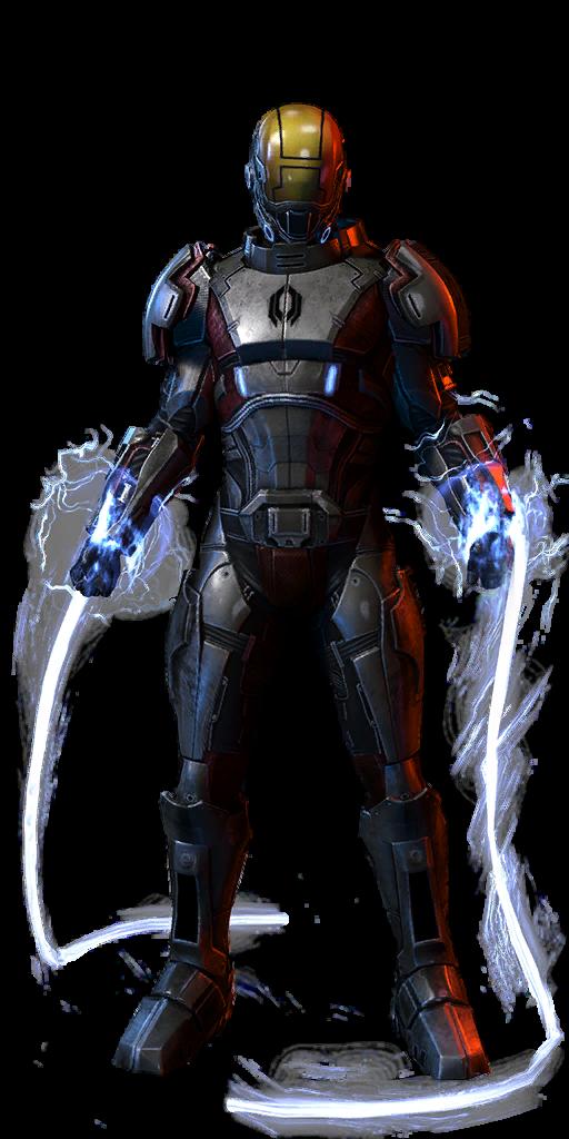 Mass Effect  Turian Soldier Build