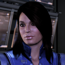 Ashley Williams en Mass Effect 3