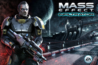 Mass Effect Infiltrator Splash Screen
