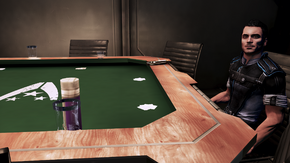 Kaidan on the poker table