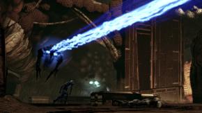 Collector ship - praetorian fight