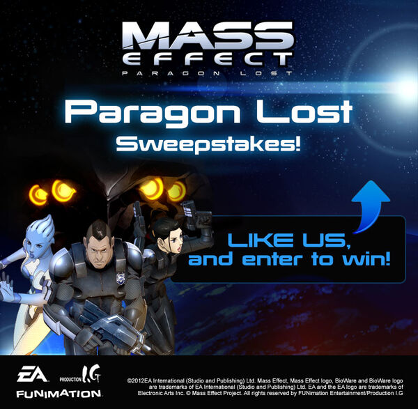 Paragon Lost Sweepstakes Image
