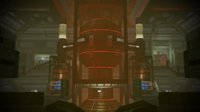 N7 Imminent Ship Crash engine room
