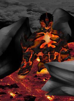 Lava demon stage 3 by railmatrix-d4h08d3